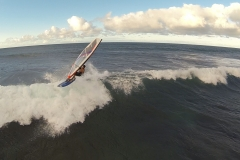 Aerial Video Maui- Windsurfing the North Shore of Maui Hawaii