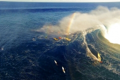 Aerial Video Maui- Windsurfing and Surfing Jaws