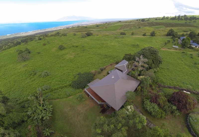 Aerial Video Maui- Ulapalakula North Shore View