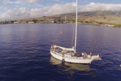 Aerial Video Maui- Sailboating the South Side of Maui, Hawaii