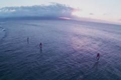 Aerial Video Maui- Windsurfing the North Shore of Maui Hawaii